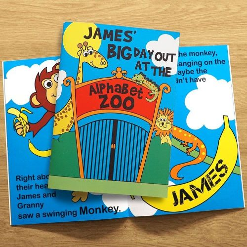 Personalised Zoo Day Out Story Book